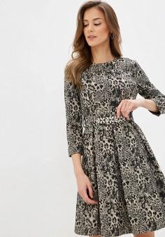 Платье, Lusio, цвет: черный. Артикул: LU018EWIGBN3.
