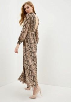Платье, Lusio, цвет: коричневый. Артикул: LU018EWIKFC1.