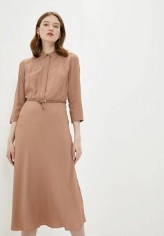 Платье, Lusio, цвет: бежевый. Артикул: LU018EWIXOK6.