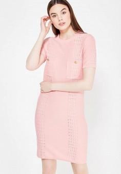 Платье, Lusio, цвет: розовый. Артикул: LU018EWUBT89.