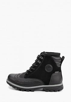 Ботинки, Luhta, цвет: черный. Артикул: LU692AMGNYE2. Обувь / Ботинки / Высокие ботинки