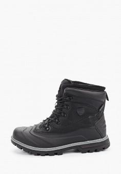 Ботинки, Luhta, цвет: черный. Артикул: LU692AMHZFK1. Обувь / Ботинки