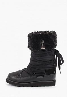 Дутики, Luhta, цвет: черный. Артикул: LU692AWHZFJ9. Обувь / Сапоги / Дутики