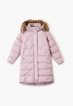 Куртка утепленная, Luhta, цвет: розовый. Артикул: LU692EGGURF7. Девочкам / Одежда / Верхняя одежда / Куртки и пуховики