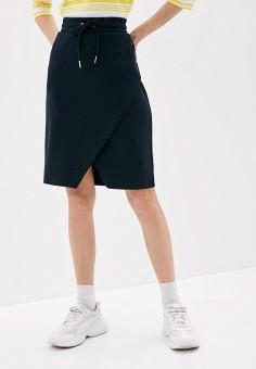 Юбка, Luhta, цвет: синий. Артикул: LU692EWIPUF2. Одежда / Юбки