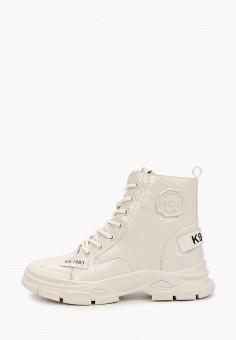 Ботинки, M25, цвет: белый. Артикул: M3760AWKCOV1. Обувь / Ботинки / Высокие ботинки