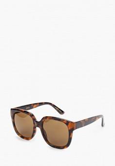 Очки солнцезащитные, Mango, цвет: коричневый. Артикул: MA002DWIJMK9.