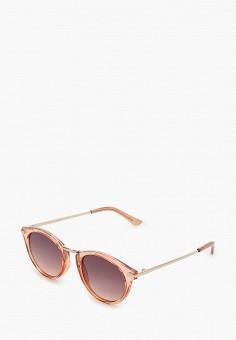 Очки солнцезащитные, Mango, цвет: розовый. Артикул: MA002DWJGFB8. Аксессуары / Очки