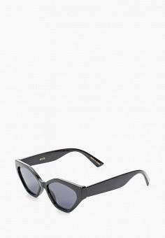 Очки солнцезащитные, Mango, цвет: черный. Артикул: MA002DWJGFI5.