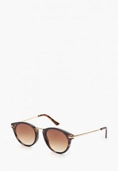 Очки солнцезащитные, Mango, цвет: коричневый. Артикул: MA002DWJWNL4. Аксессуары / Очки