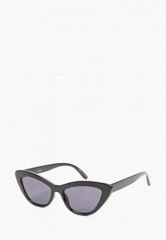 Очки солнцезащитные, Mango, цвет: черный. Артикул: MA002DWJWNN5. Аксессуары / Очки
