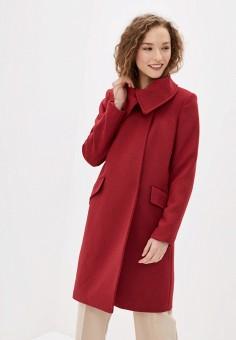 Пальто, Mango, цвет: красный. Артикул: MA002EWIEFV3. Одежда / Верхняя одежда