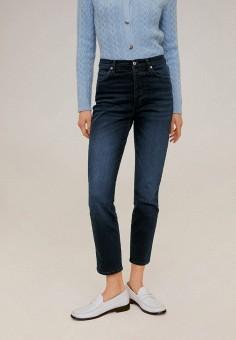 Джинсы, Mango, цвет: синий. Артикул: MA002EWIIQH6. Одежда / Джинсы / Узкие джинсы
