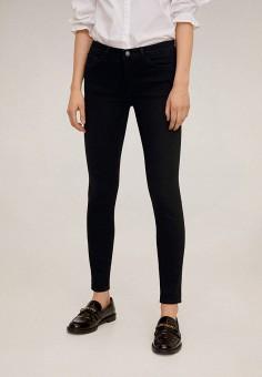 Джинсы, Mango, цвет: черный. Артикул: MA002EWIIQW3. Одежда / Джинсы / Узкие джинсы