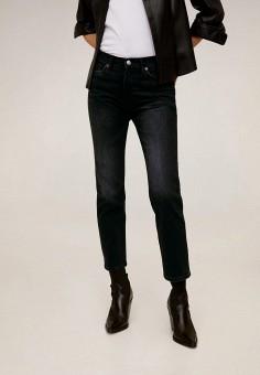 Джинсы, Mango, цвет: черный. Артикул: MA002EWIIQX0. Одежда / Джинсы / Узкие джинсы