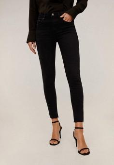 Джинсы, Mango, цвет: черный. Артикул: MA002EWIIQX1. Одежда / Джинсы / Узкие джинсы