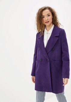 Пальто, Mango, цвет: фиолетовый. Артикул: MA002EWIJMU0. Одежда / Верхняя одежда