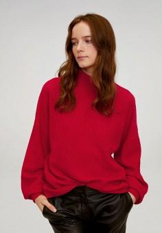 Джемпер, Mango, цвет: красный. Артикул: MA002EWIJMZ6. Одежда / Джемперы, свитеры и кардиганы / Джемперы и пуловеры