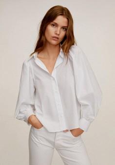 Рубашка, Mango, цвет: белый. Артикул: MA002EWIPRA9. Одежда / Блузы и рубашки / Рубашки
