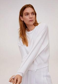 Джемпер, Mango, цвет: белый. Артикул: MA002EWIUWI7. Одежда / Джемперы, свитеры и кардиганы / Джемперы и пуловеры