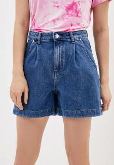 Шорты джинсовые, Mango, цвет: синий. Артикул: MA002EWJDWE0. Одежда / Шорты