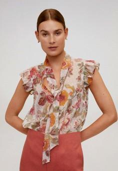 Блуза, Mango, цвет: мультиколор. Артикул: MA002EWJDXY1.