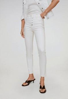 Джинсы, Mango, цвет: белый. Артикул: MA002EWJGDM5. Одежда / Джинсы / Узкие джинсы