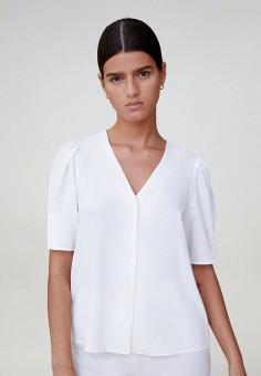 Блуза, Mango, цвет: белый. Артикул: MA002EWJGDP5.