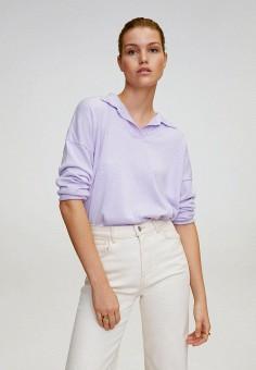 Джемпер, Mango, цвет: фиолетовый. Артикул: MA002EWJGEW1. Одежда