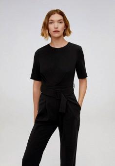 Комбинезон, Mango, цвет: черный. Артикул: MA002EWJGFF3. Одежда / Комбинезоны