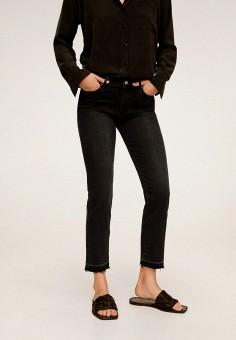 Джинсы, Mango, цвет: черный. Артикул: MA002EWJIZC0. Одежда / Джинсы / Узкие джинсы