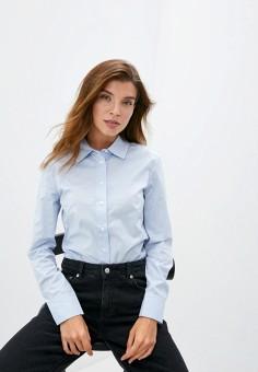 Рубашка, Mango, цвет: голубой. Артикул: MA002EWJUNG4. Одежда / Блузы и рубашки