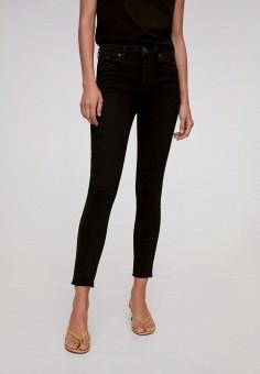 Джинсы, Mango, цвет: черный. Артикул: MA002EWJWNQ0. Одежда / Джинсы / Узкие джинсы