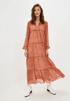 Платье, Mango, цвет: красный. Артикул: MA002EWKCVD9. Одежда / Платья и сарафаны