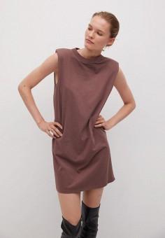 Платье, Mango, цвет: розовый. Артикул: MA002EWKIEO3. Одежда / Платья и сарафаны