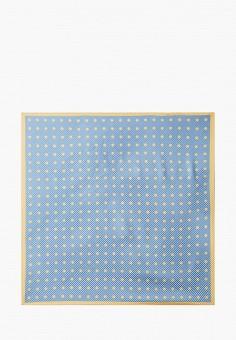 Платок, Mango, цвет: голубой. Артикул: MA002GWJNBF4. Аксессуары / Платки и шарфы