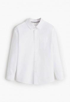 Рубашка, Mango Kids, цвет: белый. Артикул: MA018EBIIKG3. Мальчикам / Одежда