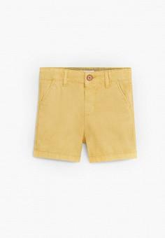 Шорты, Mango Kids, цвет: желтый. Артикул: MA018EBJIYF7.
