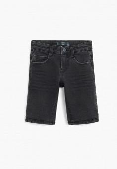 Шорты джинсовые, Mango Kids, цвет: серый. Артикул: MA018EBJIZB8.