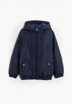 Куртка, Mango Kids, цвет: синий. Артикул: MA018EBJUNH5. Мальчикам / Одежда / Верхняя одежда