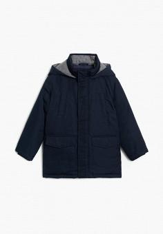Куртка утепленная, Mango Kids, цвет: синий. Артикул: MA018EBKCUR9.
