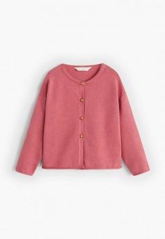 Кардиган, Mango Kids, цвет: розовый. Артикул: MA018EGIIPG3.