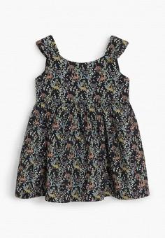 Платье, Mango Kids, цвет: черный. Артикул: MA018EGIPXO4. Девочкам / Одежда / Платья и сарафаны