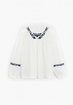 Блуза, Mango Kids, цвет: белый. Артикул: MA018EGIUWD4.