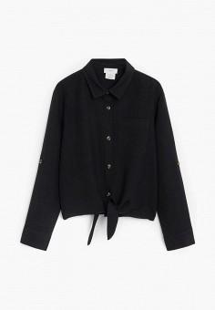 Рубашка, Mango Kids, цвет: черный. Артикул: MA018EGIUYO0.
