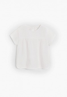 Блуза, Mango Kids, цвет: белый. Артикул: MA018EGJIXV0.