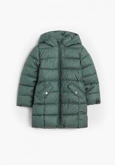 Куртка утепленная, Mango Kids, цвет: зеленый. Артикул: MA018EGJSZM7.
