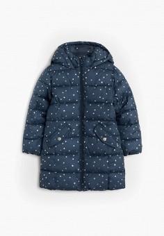 Куртка утепленная, Mango Kids, цвет: синий. Артикул: MA018EGJSZN7.