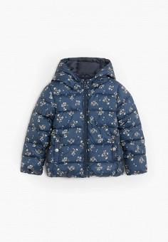 Куртка утепленная, Mango Kids, цвет: синий. Артикул: MA018EGJSZO4.