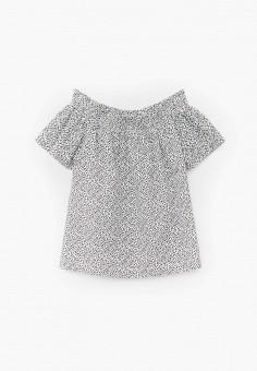 Блуза, Mango Kids, цвет: белый. Артикул: MA018EGJUNA2.